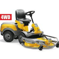 Stiga Park 340PX 4WD Out Front complete with 95cm combo cutter deck