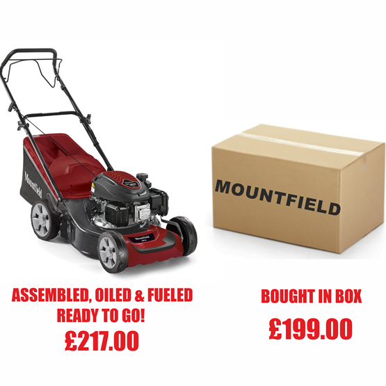 Mountfield SP42  4 Wheel Petrol Lawn mower
